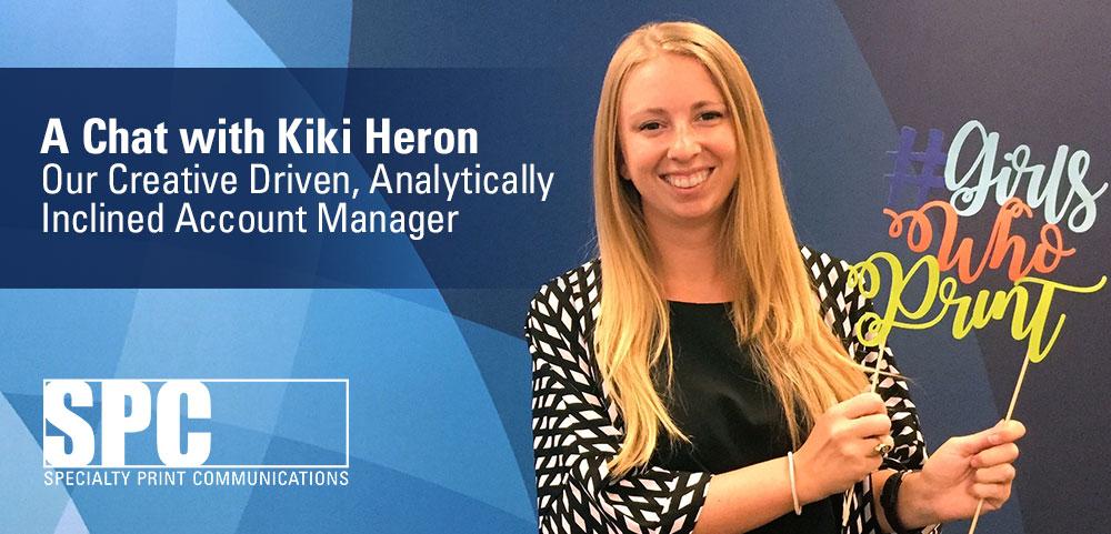 A Chat with Kiki Heron