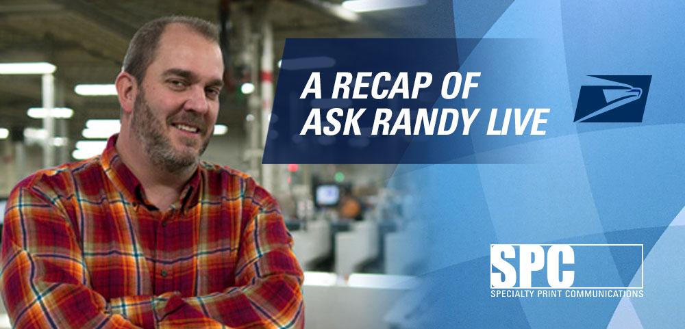 Ask Randy: A Recap of Ask Randy Live