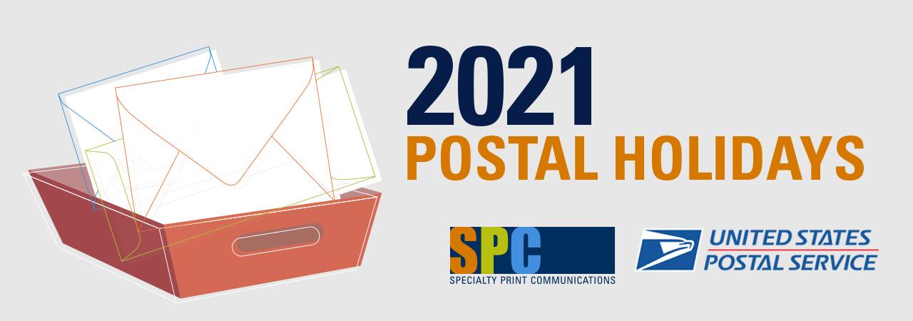 DOWNLOAD: 2021 Postal Holiday Calendar