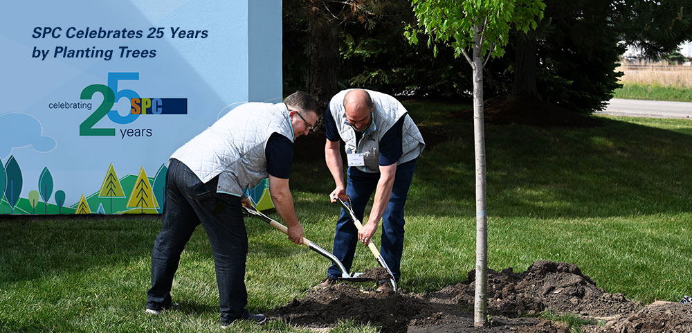 Specialty Print Communications Celebrates 25 Years by Planting Trees