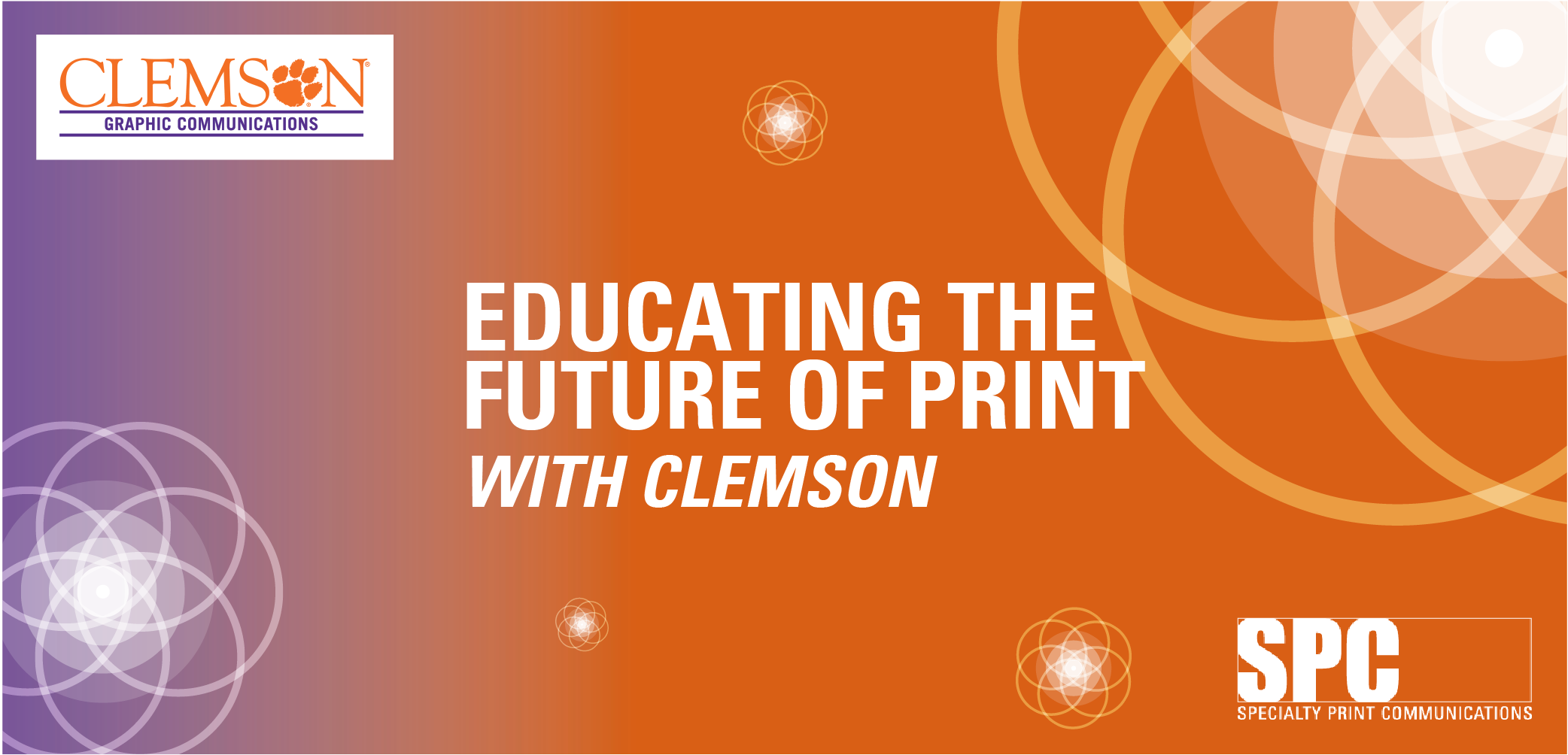 Educating the Future of Print with Clemson