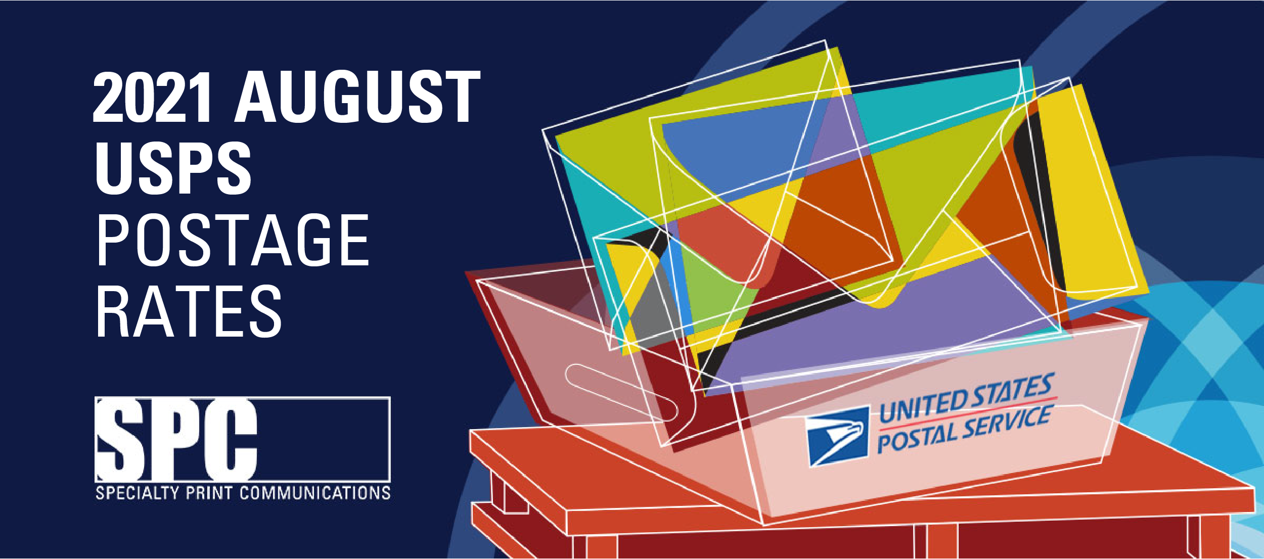 2021 August USPS Postage Rates